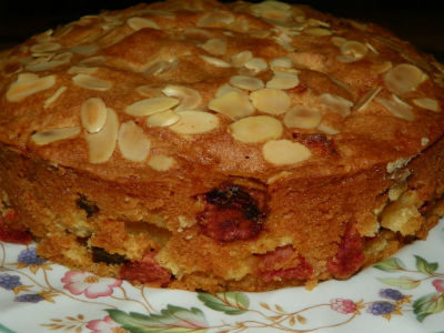 Apple and Apricot Cake Recipe