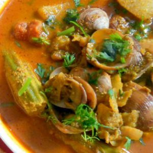 Mussel Curry with Coconut