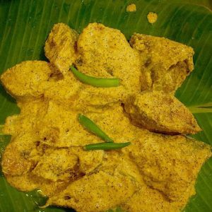 Shorshe Maach (Fish Cooked in Mustard)