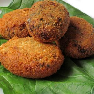 Cheera (Red Spinach) Cutlet