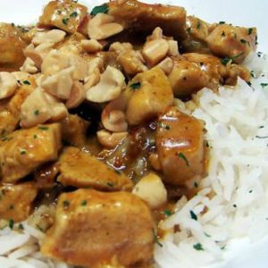 Chicken and Peanuts Curry