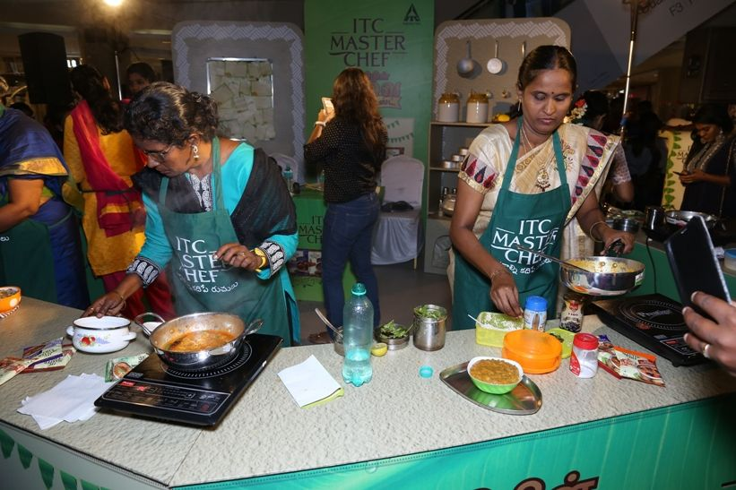 itc masterchef spices contest 02 - Master Chef(ing) with ITC in Chennai
